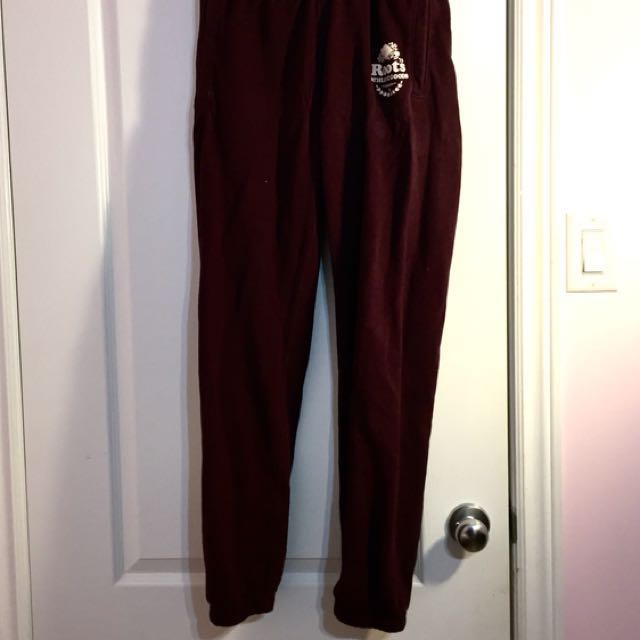 Authentic Roots Sweats (extra small)