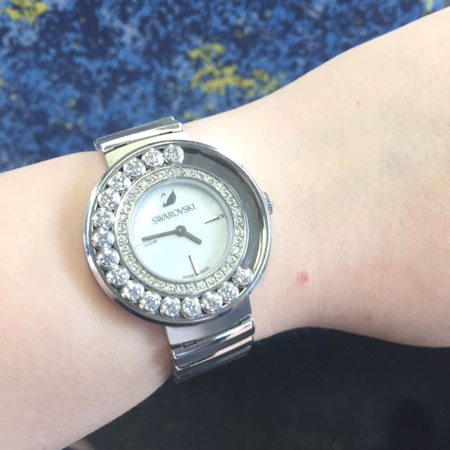 Authentic swarovski watch