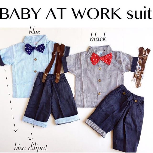 Baby at work suit