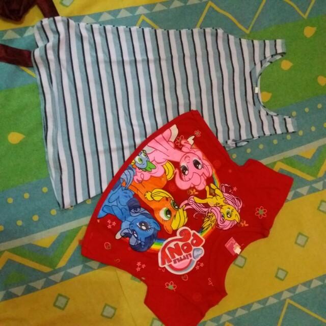 Baju santai little poni ( freeong)