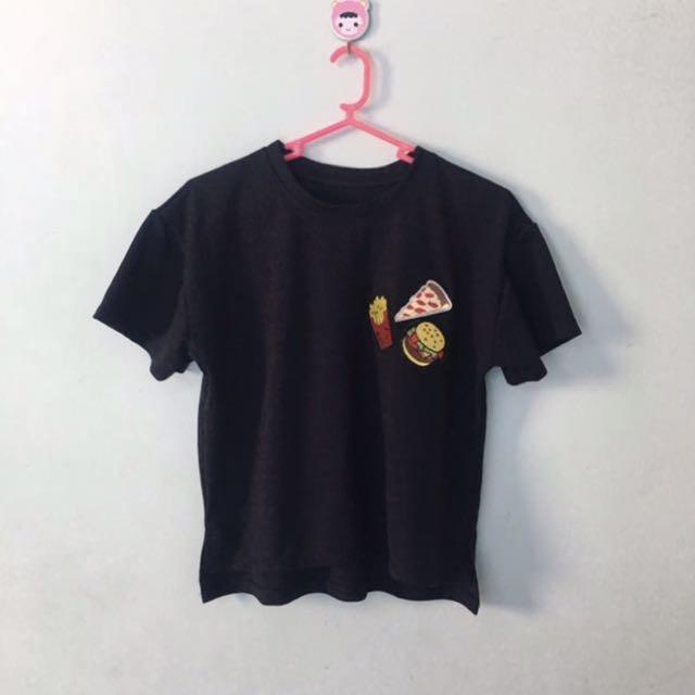 Bangkok Loose Crop Top Shirt
