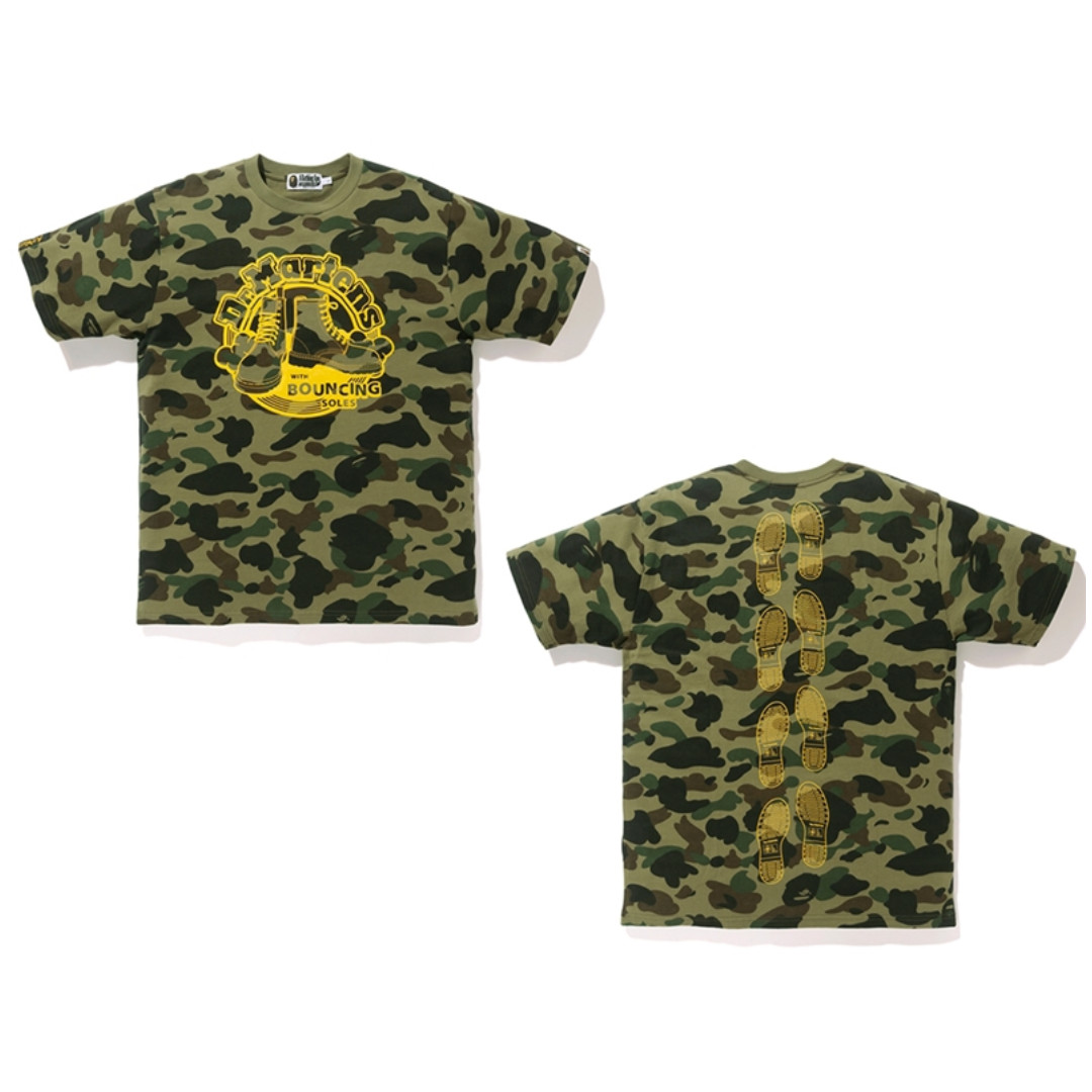 5f70754e3 BAPE X Dr Martens 1st Camo Tee, Men's Fashion, Clothes on Carousell