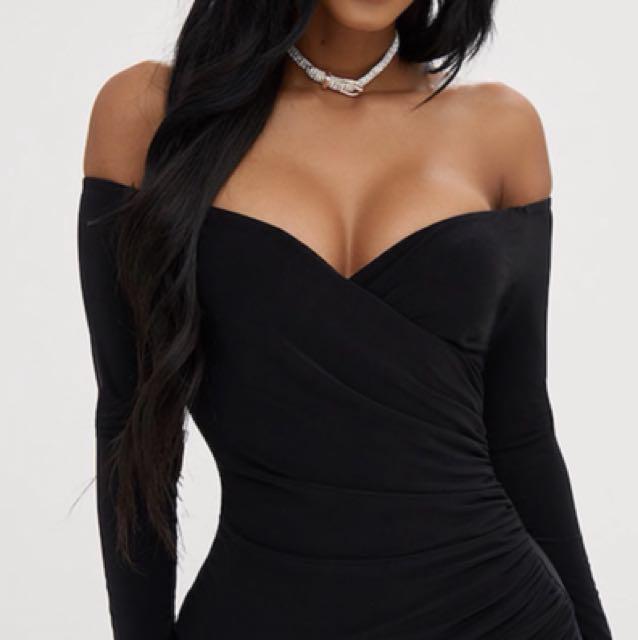Bardot Bodycon Dress