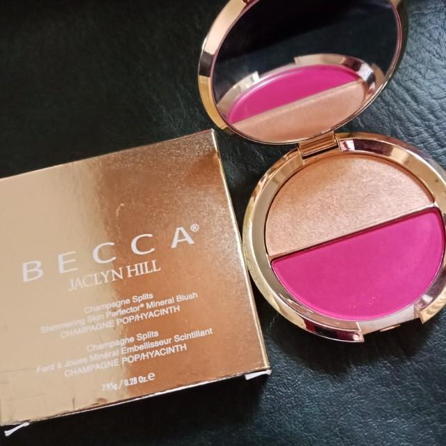 Becca Jacclyn Hill Champagne Splits