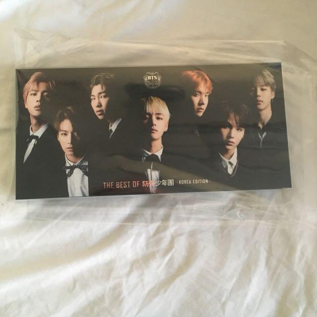 Best of BTS (korean version) limited edition DVD + CD