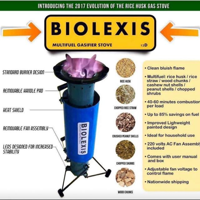 Biolexis Stainless Stove