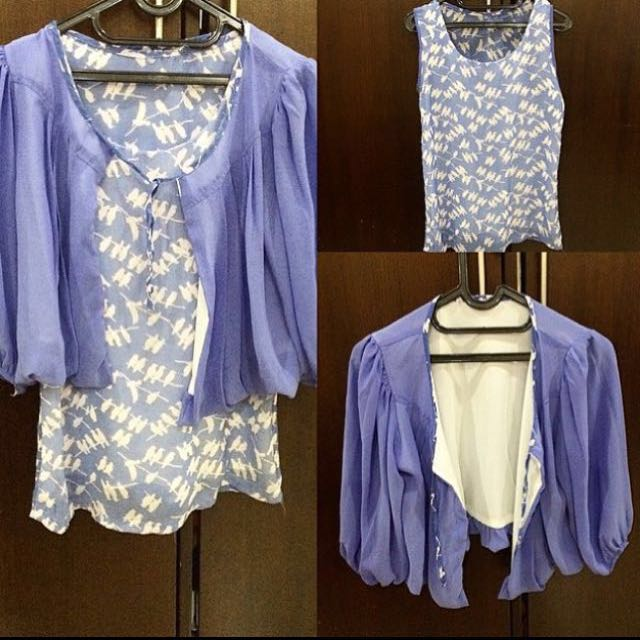 Bird top with outer (1 paket)