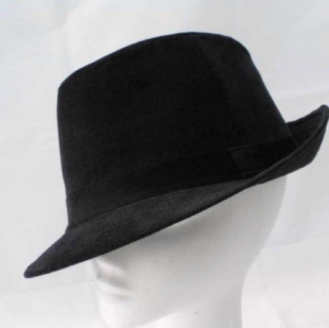 4a215e8a204 Black Fedora Hat MJ   Mafia Style