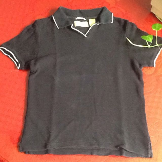 Black Polo-Shirt
