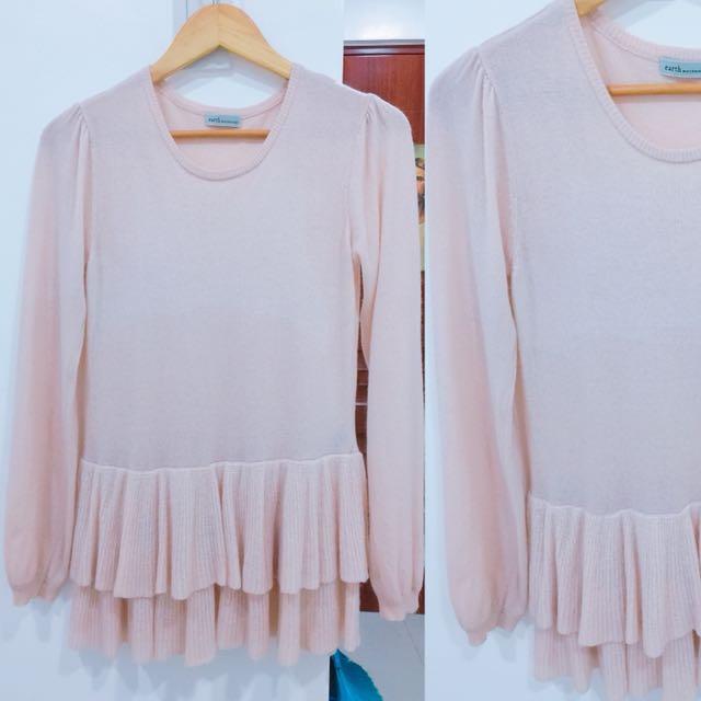 Blush Pink Barbie Top/Longsleeves/Pullover