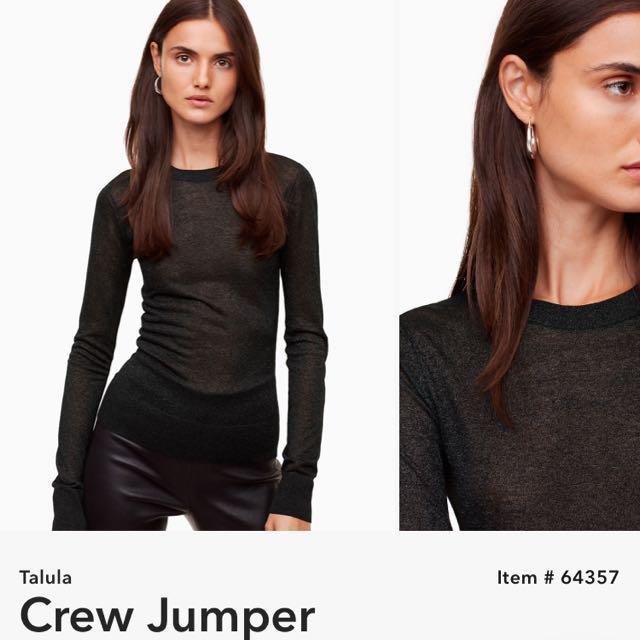 BNWT Aritzia Talula Crew Jumper