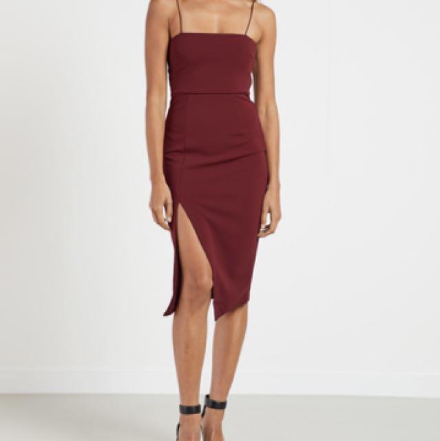 BNWT Peppermayo Red Dress S8