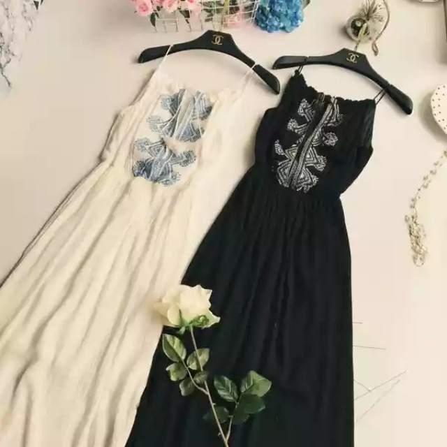 Bohemian Maxi Halter Dress