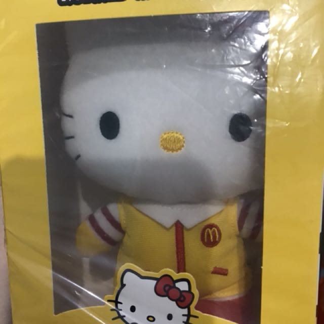 Boneka Hello kitty mcd