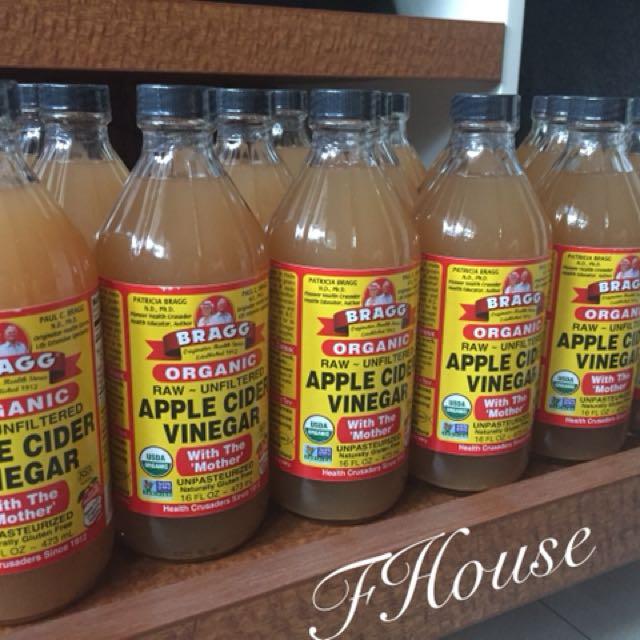 Bragg Apple Cider Vinegar 473ml 100% ORIGINAL USA