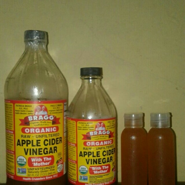 Bragg apple cider vinegar per 100 ml