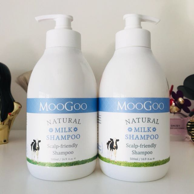 Brand New Moogoo Natural Milk Shampoo