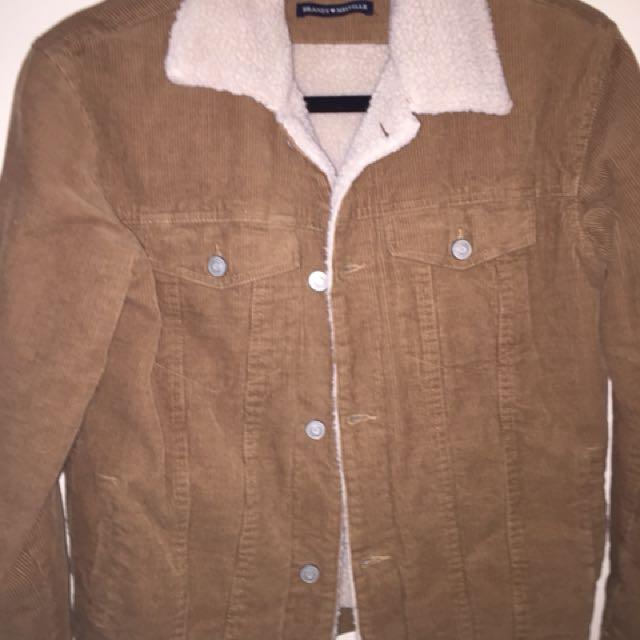Brandy Melville Sherpa Corduroy Jacket