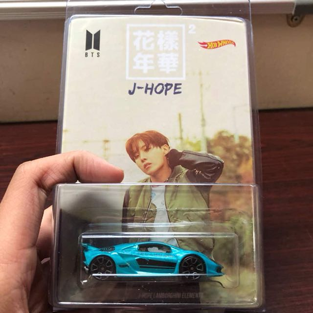 BTS J-Hope Hotwheel Edition Collection
