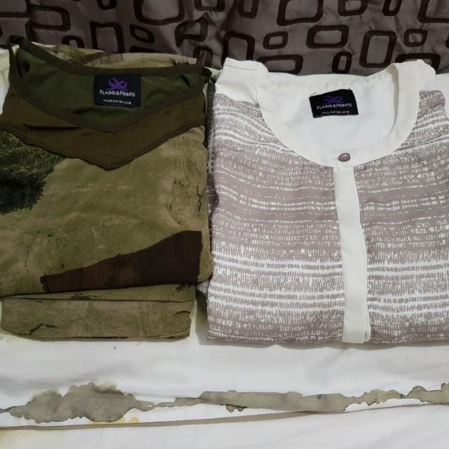 BUNDLE: PLAINS AND PRINTS TOP, SKIRT AND DRESS
