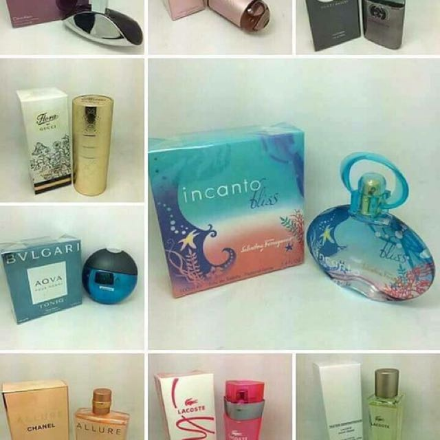 Buy 1 Take 1Authentic Perfume US Tester