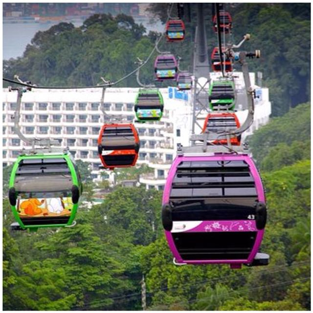 CABLE CAR SINGAPORE 2-WAYS OPEN DATE ETICKETS