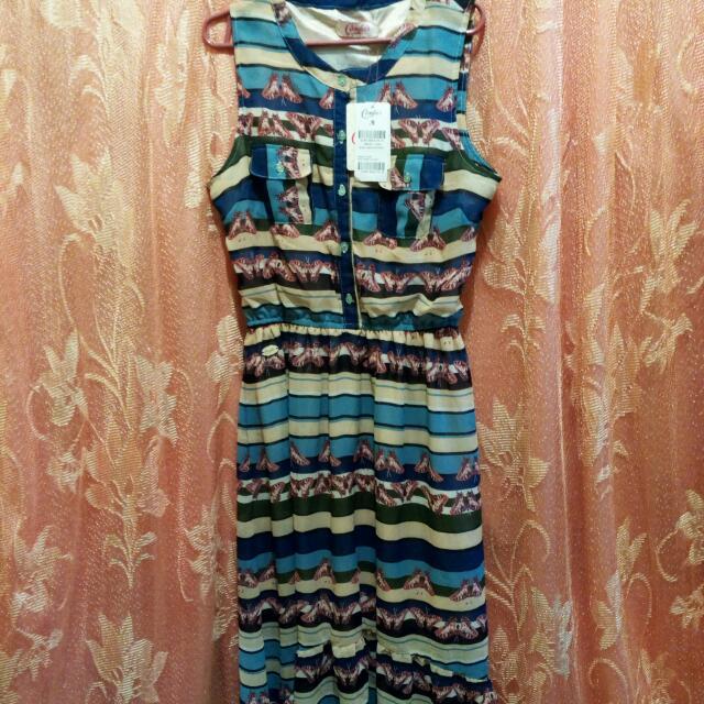 Candie's Hi-low Maxi Dress