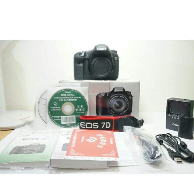 🔥HOT🔥Canon EOS 7D (Single Body)