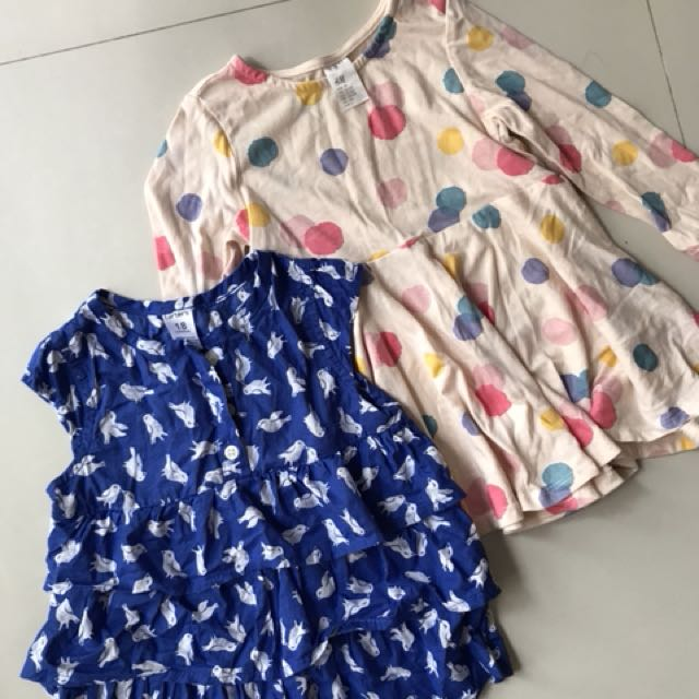 Carters too and H&M dress