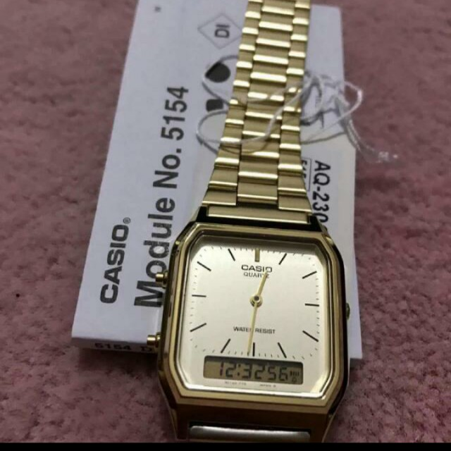 a3968d2e61d Casio Vintage Dual Time Watch(OEM)