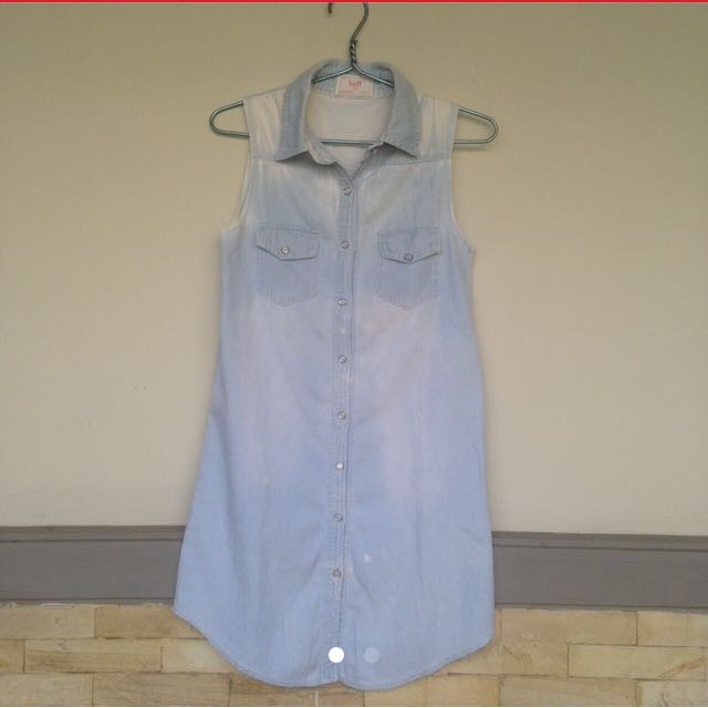 Chambray Jeans Dress