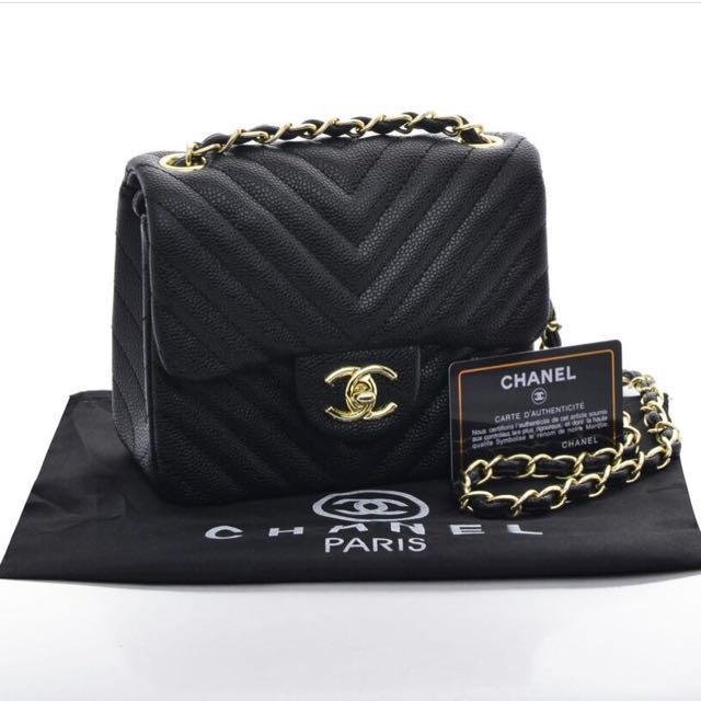 Chanel Flap Mini Chevron / Sling bag