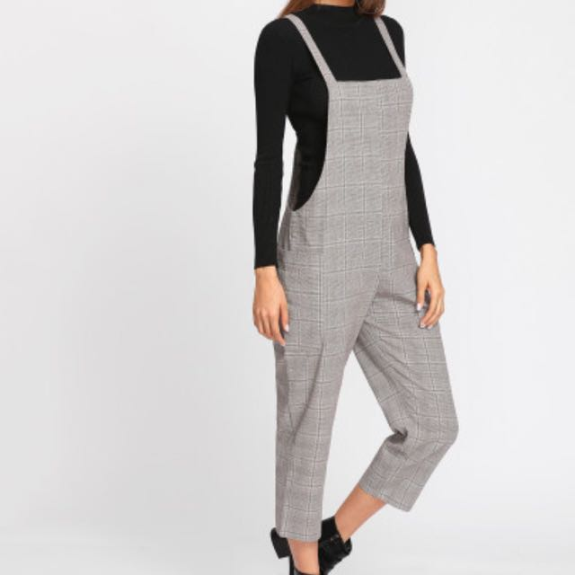 checkered overall