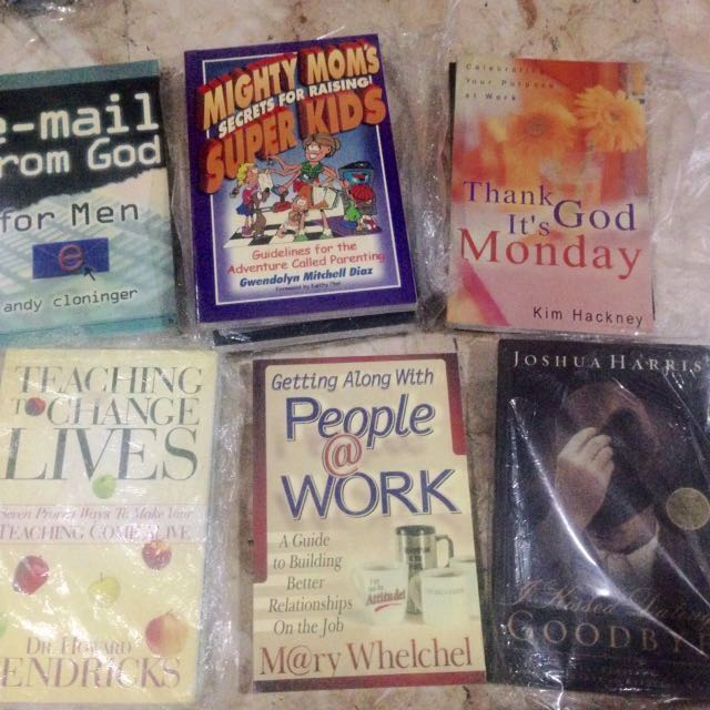 Christian Books OMF literatures and many more! Sale!