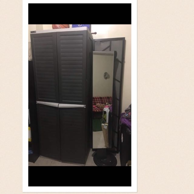 Clothes Cabinet As Seen On Sm Very Durable Long Lasting With Free