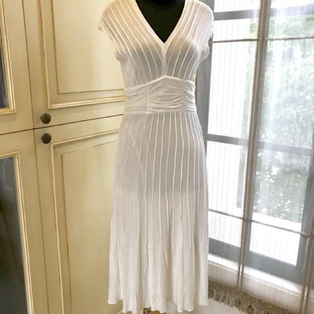 COAT's white dress