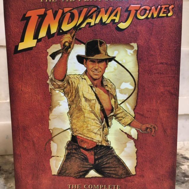 Complete DVD movie collection- Indiana Jones