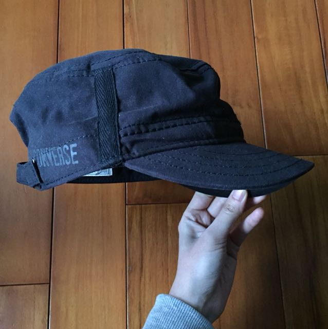 converse 黑色軍帽