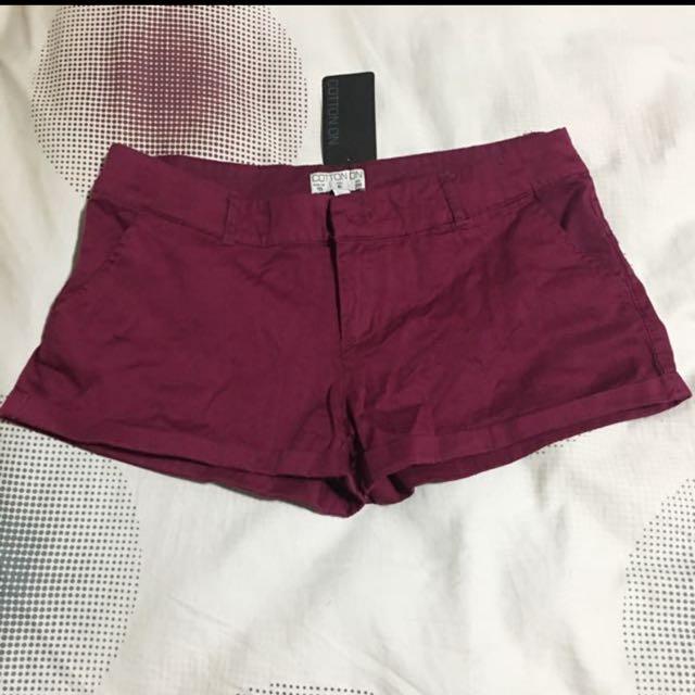 Cotton On Purple Short