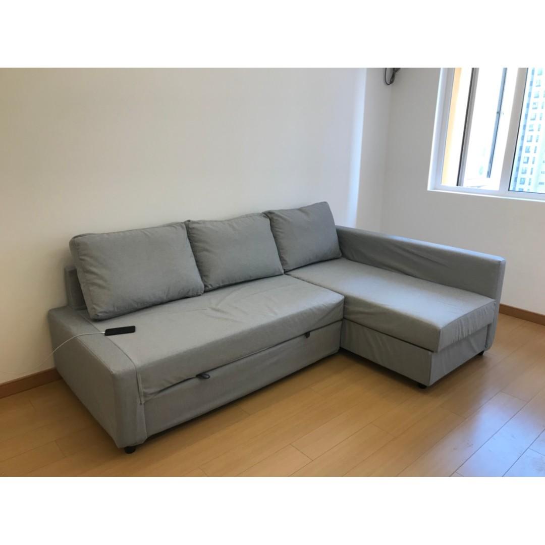 Super Custom Made Ikea Friheten Sofa Bed Cover Furniture Home Download Free Architecture Designs Terstmadebymaigaardcom