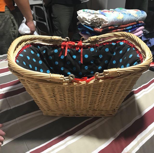 Cute Picnic Basket