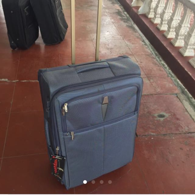 Delsey 2-wheel medium luggage
