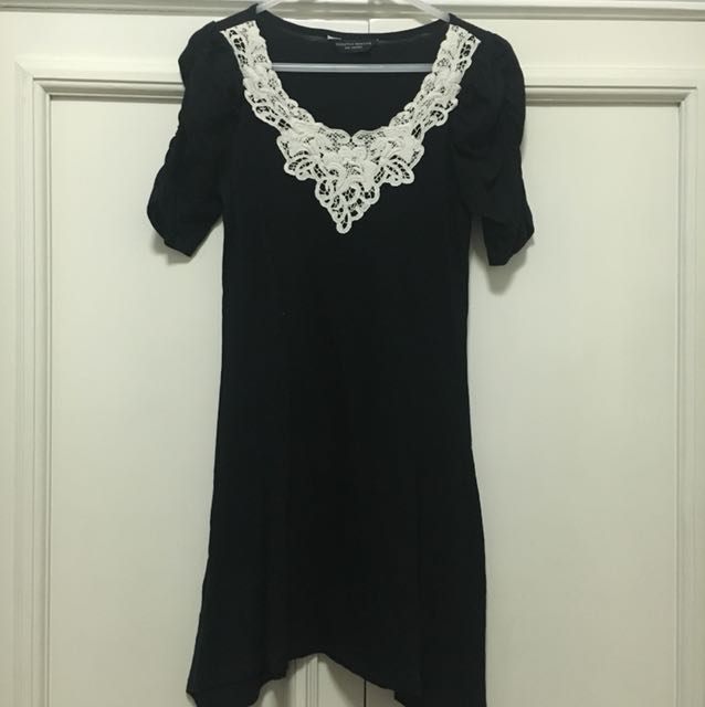 Dorothy Perkins Black Tunic XS-S