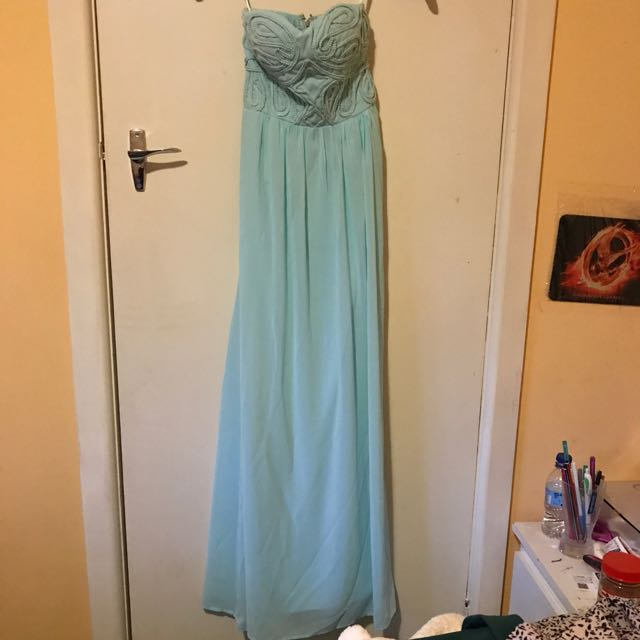 Dotti Aqua Maxi Dress