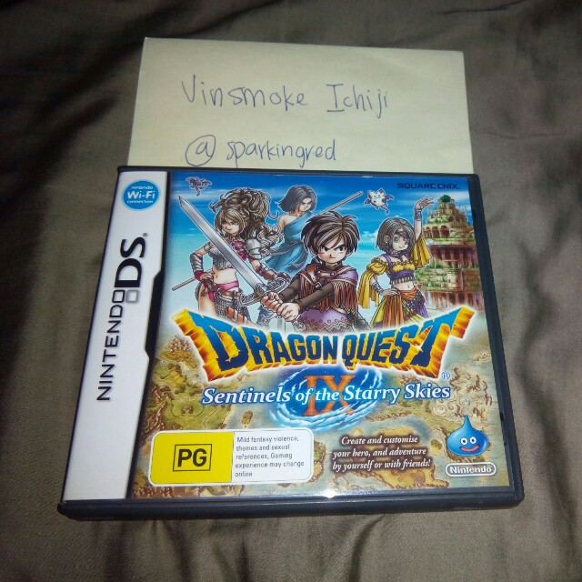 Dragon Quest IX Sentinels of the Starry Skies NDS