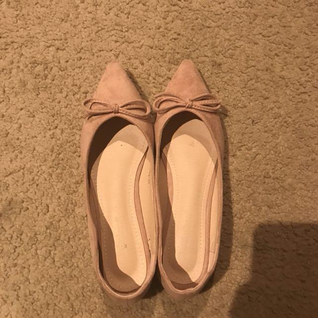 Dusty Pink Flat Size 37