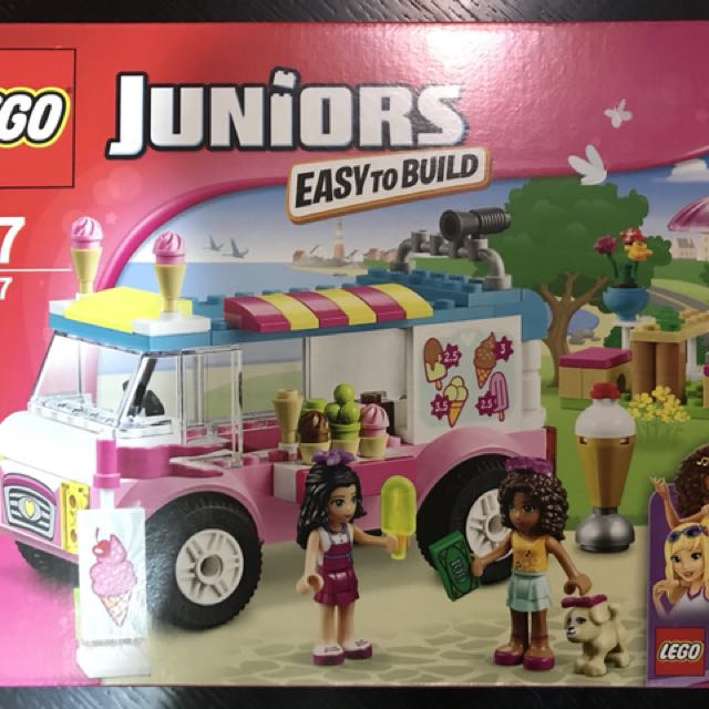 Educational Toy Lego Friends Juniors Ice Cream Truck Toys Games