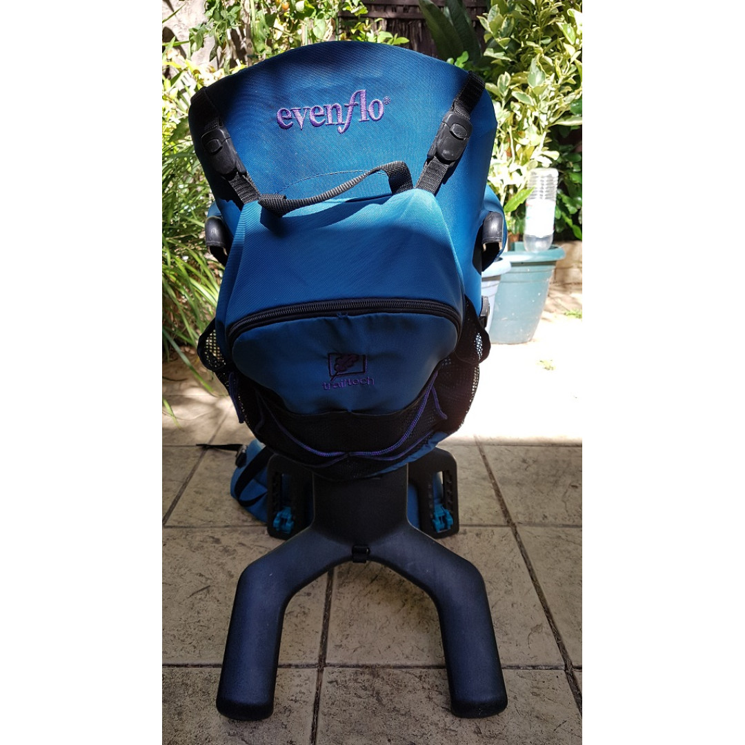 Evenflo Trailtech Hiking Child Carrier And Backpack Blue Babies