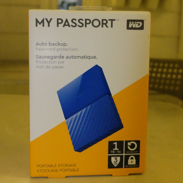 External Hard Disk WD 1 TB New