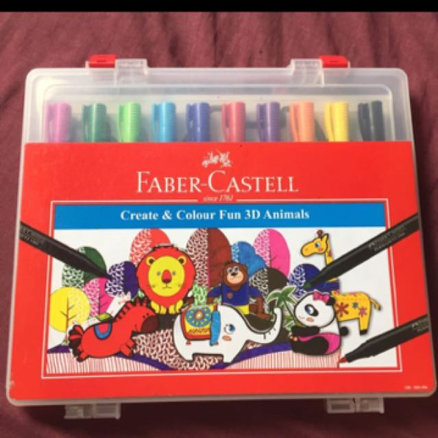Faber Castell permanent markers